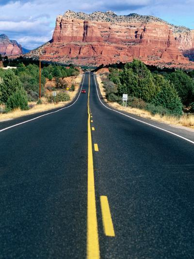 Road Into Sedona, Sedona, U.S.A.-Ann Cecil-Photographic Print