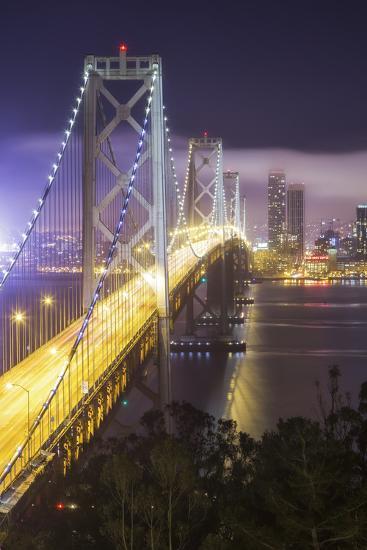 Road Into The City, Bay Bridge - San Francisco-Vincent James-Photographic Print