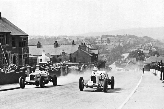 'Road racing in the Isle of Man, 1937', 1937-Unknown-Photographic Print