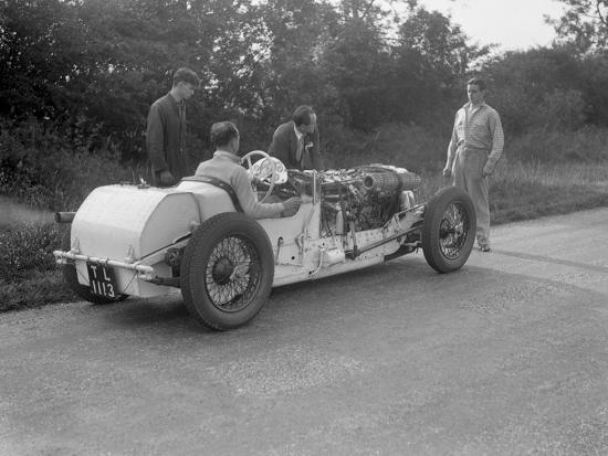 Road testing Raymond Mays Vauxhall-Villiers, c1930s-Bill Brunell-Photographic Print