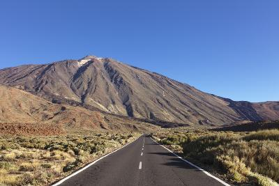 Road Through Caldera De Las Canadas, National Park Teide, Canary Islands-Markus Lange-Photographic Print