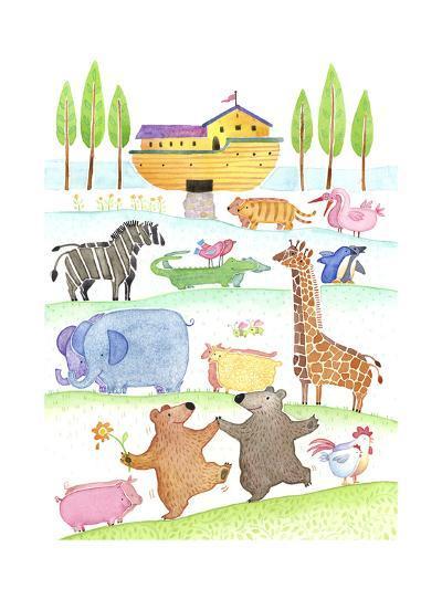 Road to Noah's Ark--Art Print