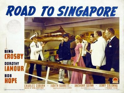 Road to Singapore, 1940--Art Print