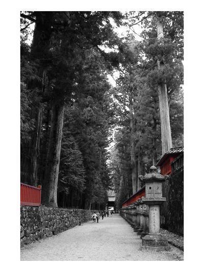 Road To The Temple-NaxArt-Art Print