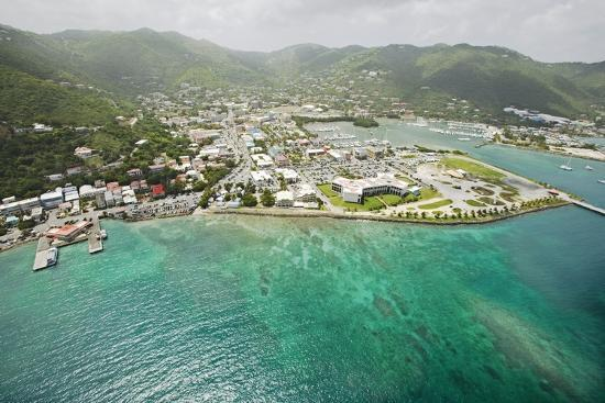 Road Town on Tortola in British Virgin Islands-Macduff Everton-Photographic Print