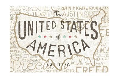 Road Trip USA-Oliver Towne-Art Print