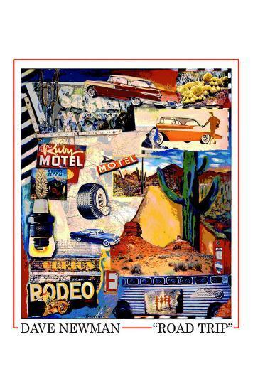 Road Trip-Dave Newman-Giclee Print