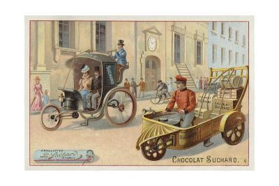 Road Vehicles--Giclee Print