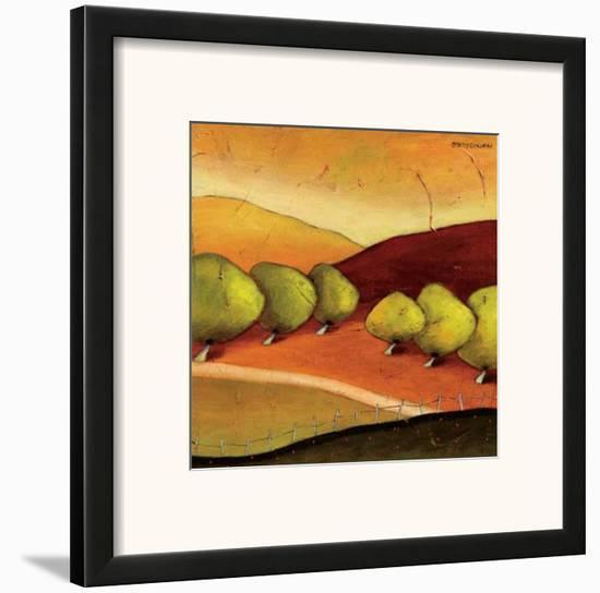 Roads II-Stacy Dynan-Framed Art Print