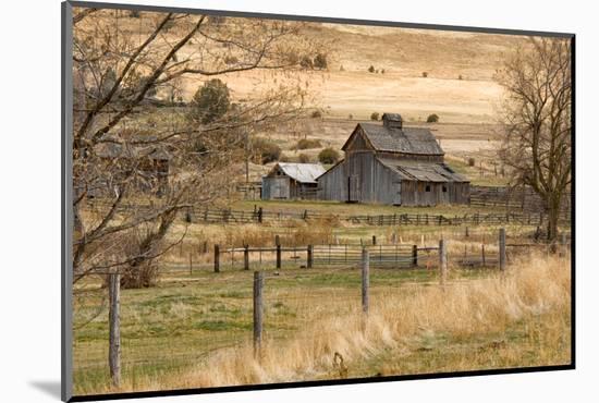 Roadside Barn-Romona Murdock-Mounted Photographic Print
