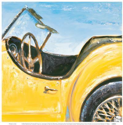 Roadster I-P^ Moss-Art Print
