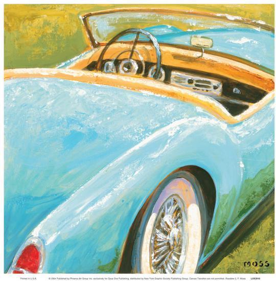 Roadster II-P^ Moss-Art Print