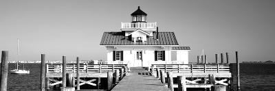 Roanoke Marshes Lighthouse, Outer Banks, North Carolina, USA--Photographic Print