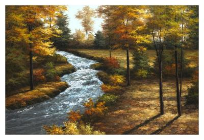 Roaring Brook-Diane Romanello-Art Print