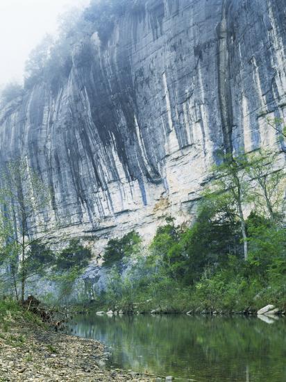 Roark Bluff, Buffalo National River, Arkansas, USA-Charles Gurche-Photographic Print