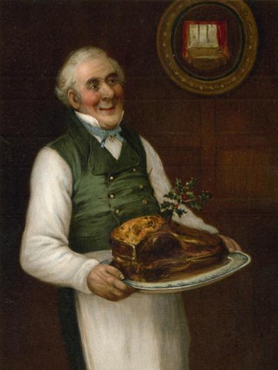 'Roast Beef of Old England'-English School-Giclee Print
