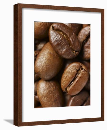 Roasted Coffee Beans-Michael Löffler-Framed Photographic Print