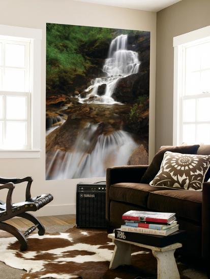 Roasto Falls in Nordland County, Norway-Stocktrek Images-Wall Mural