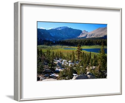 Eastern Sierra Nevada Mountain Range, California, USA