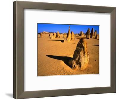 Rock Pinnacles in Desert Nambung National Park, Western Australia, Australia