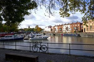 Bathurst Basin, the harbour, Bristol, England, United Kingdom, Europe by Rob Cousins