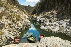 Boat Navigable Part of the Coco River before it Narrows into the Somoto Canyon National Monument by Rob Francis