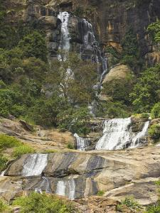 Rawana (Ravana) Falls, a Popular Sight by the Highway to the Coast as it Drops Thru Ella Gap, Ella, by Rob Francis