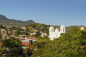 San Pedro Cathedral, Built 1874 on Parque Morazan in This Important Northern Commercial City by Rob Francis
