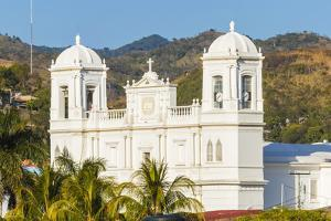 San Pedro Cathedral Built in 1874 on Parque Morazan in This Important Northern Commercial City by Rob Francis