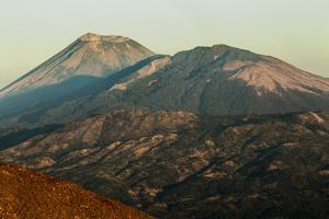 Summit of 1745M Active Volcan San Cristobal on Left, Chinandega, Nicaragua, Central America by Rob Francis