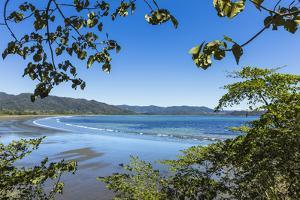 View from Tambor across Ballena Bay Towards Pochote on Southern Tip of Nicoya Peninsula, Costa Rica by Rob Francis