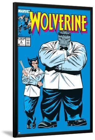 Wolverine No.8 Cover: Wolverine and Hulk