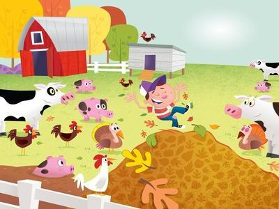Time to Count - Farmyard - Turtle