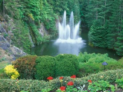 Butchart Gardens, Saanich, Vancouver Island, British Columbia by Rob Tilley