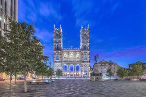 Canada, Quebec, Montreal, Notre Dame Basilica by Rob Tilley