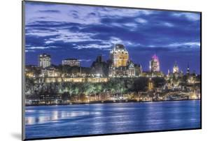 Canada, Quebec, Quebec City at Twilight by Rob Tilley