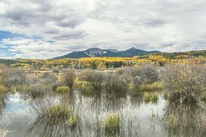 Colorado, Autumn Color at Steamboat Lake by Rob Tilley