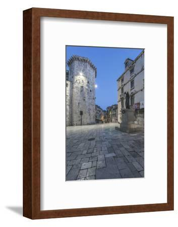 Croatia, Split, Old Town at Dawn