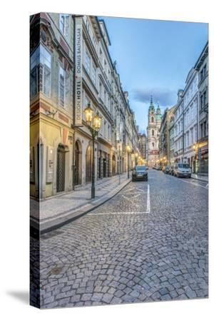 Czech Republic, Bohemia, Prague, Mala Strana Street