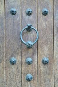 Door Knocker, Toledo, Spain by Rob Tilley