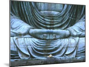 Great Buddha Detail, Kotokuji Temple, Kamakura, Japan by Rob Tilley