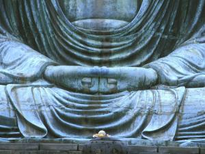 Great Buddha Detail, Kotokuji Temple, Kamakura, Japan by Rob Tilley