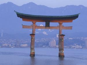 Hiroshima Mivaiima Torii Gate, Japan by Rob Tilley