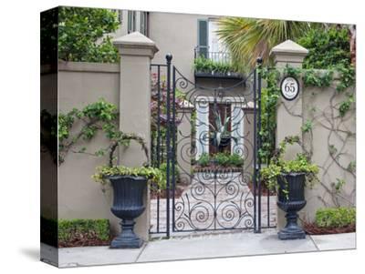 House Entrance, Historic District, Charleston, South Carolina, USA