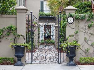 House Entrance, Historic District, Charleston, South Carolina, USA by Rob Tilley