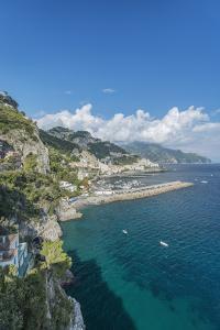 Italy, Amalfi Coast, Amalfi Town by Rob Tilley