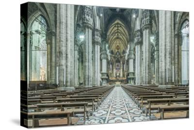 Italy, Milan, Cathedral Duomo di Milano Interior