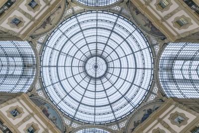 Italy, Milan, Galleria Vittorio Emanuele II Ceiling