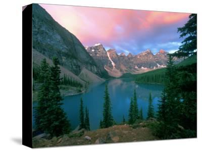 Lake Moraine at Dawn, Banff National Park, Alberta