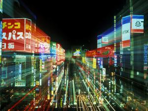 Neon, Tokyo, Japan by Rob Tilley